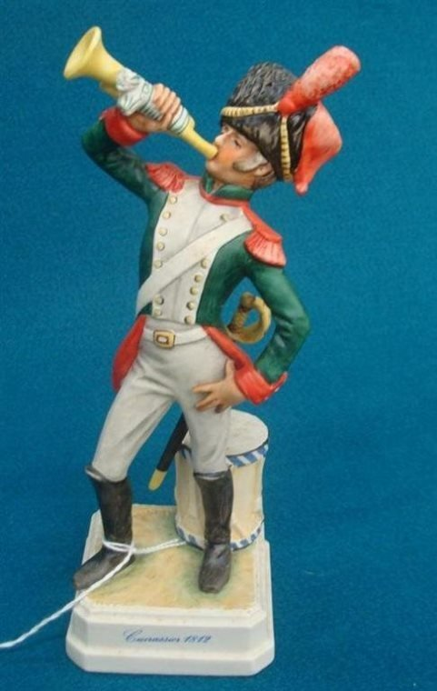 Goebel Figurine: Cuirassier; #1812, Designed by