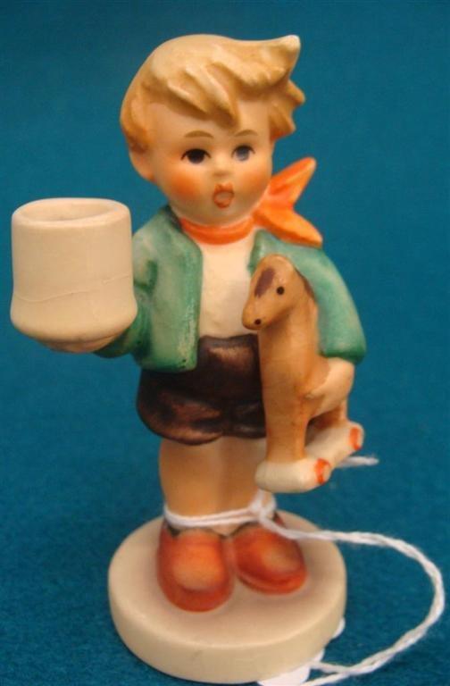 Hummel Figurine: Boy with Horse; #117; TM 3; Book Value