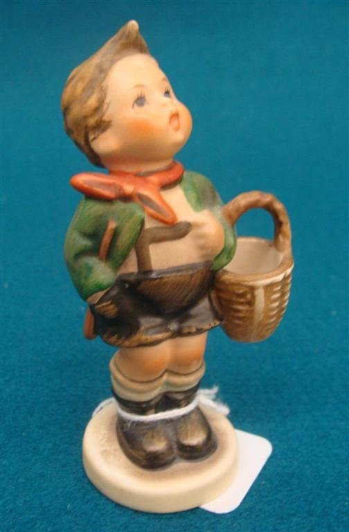 Hummel Figurine: Village Boy; #51 3/0; TM 3; Book Value