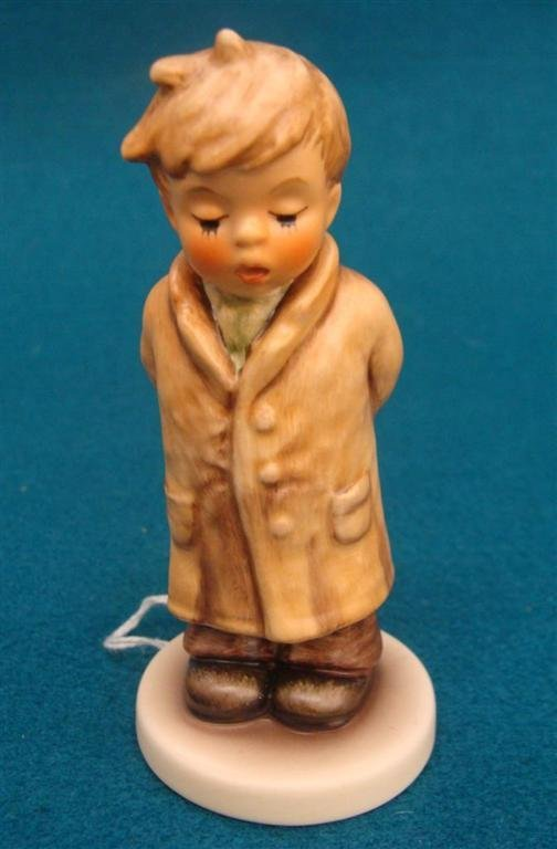 Hummel Figurine: Too Shy To Sing; #845; TM 8; Book