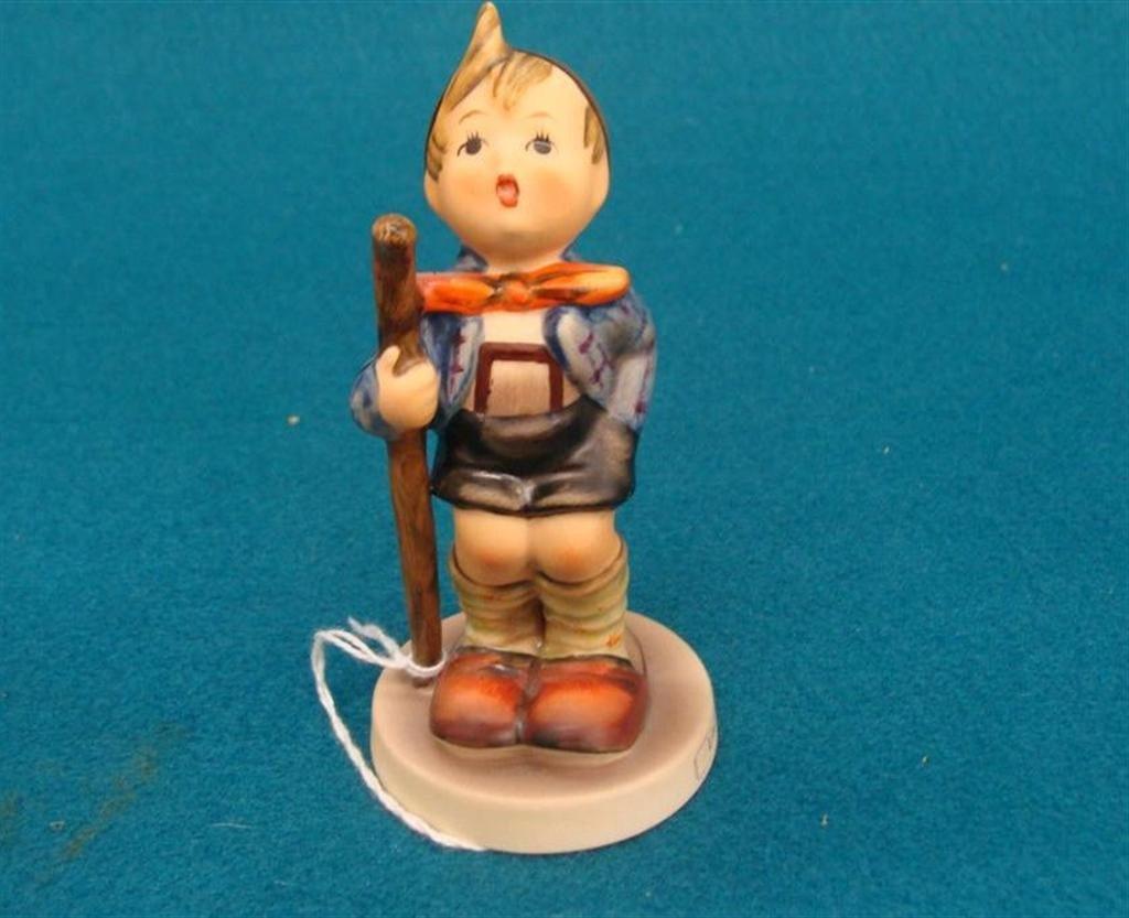 Hummel Figurine: Little Hiker; #16 2/0; TM 5; Book