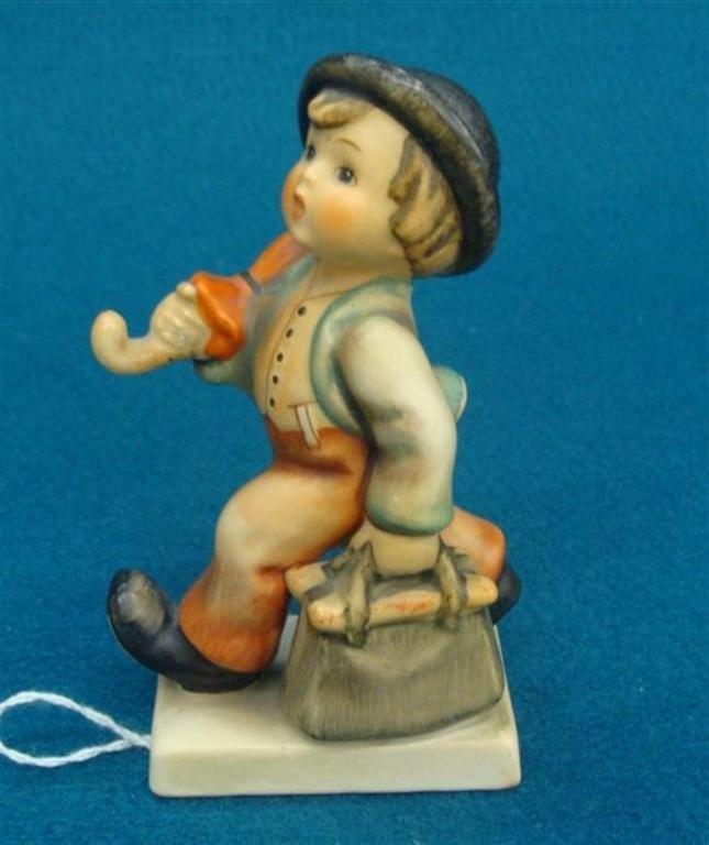 Hummel Figurine: Merry Wanderer; #11 2/0; TM 3; Book