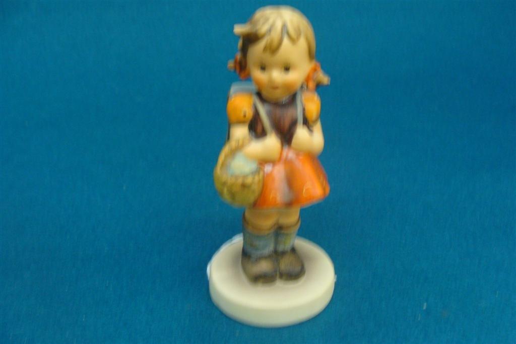 Hummel Figurine: School Girl; #81 2/0; TM 5; Book Value