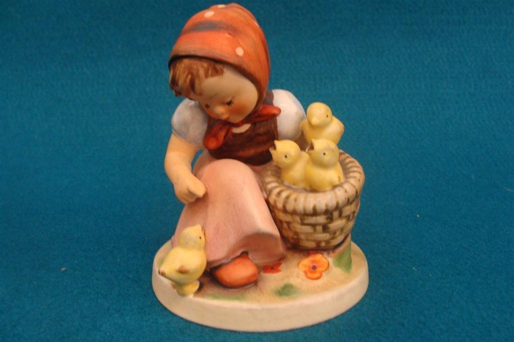 Hummel Figurine: Chick Girl; #57/1; TM 3; Book Value