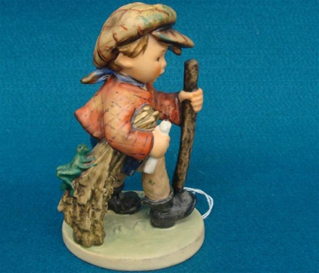 Hummel Figurine: On Secret Path; #386; TM 5; Book Value