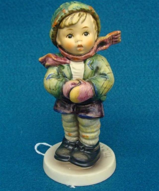 Hummel Figurine: It's Cold; #421; TM 6; Book Value