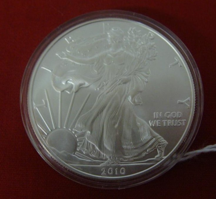1 Ounce Liberty .999 Fine Silver Uncirculated Silver