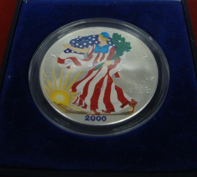 1 Ounce Liberty .999 Fine Silver Uncirculated American