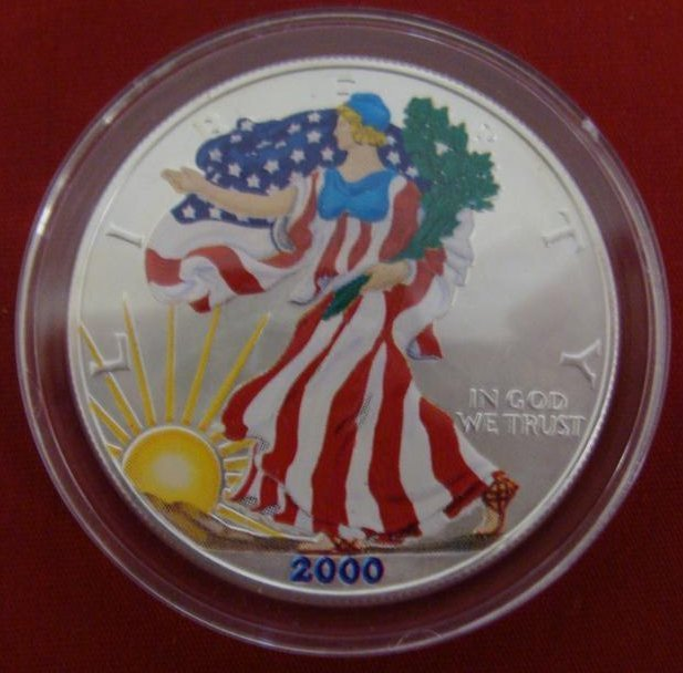 1 Ounce Liberty .999 Fine Silver Uncirculated American - 2
