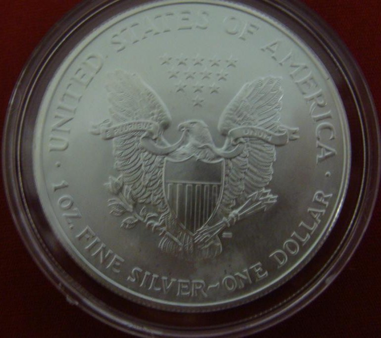 1 Ounce Liberty .999 Fine Silver Uncirculated American - 5