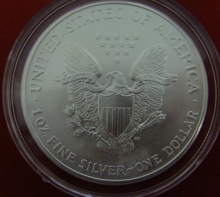 1 Ounce Liberty .999 Fine Silver Uncirculated American - 6