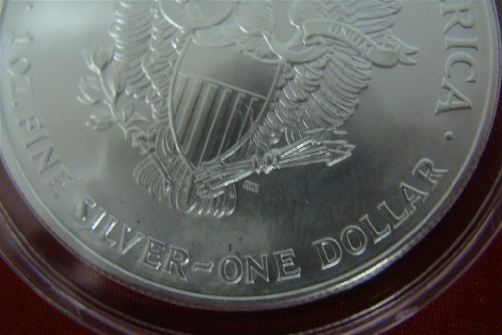 1 Ounce Liberty .999 Fine Silver Uncirculated American - 8