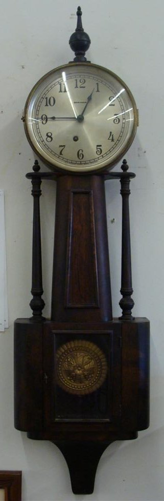 Outstanding Ingraham Banjo Clock; Working Condition.