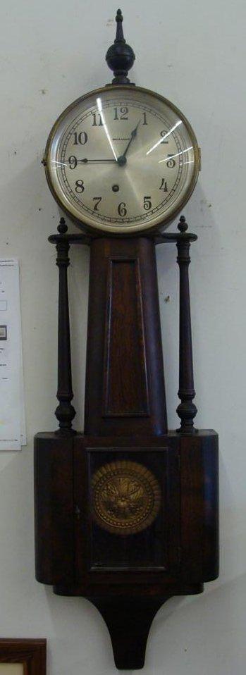 Outstanding Ingraham Banjo Clock; Working Condition. - 2