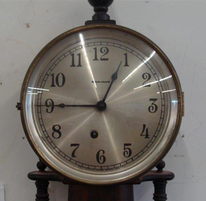Outstanding Ingraham Banjo Clock; Working Condition. - 3