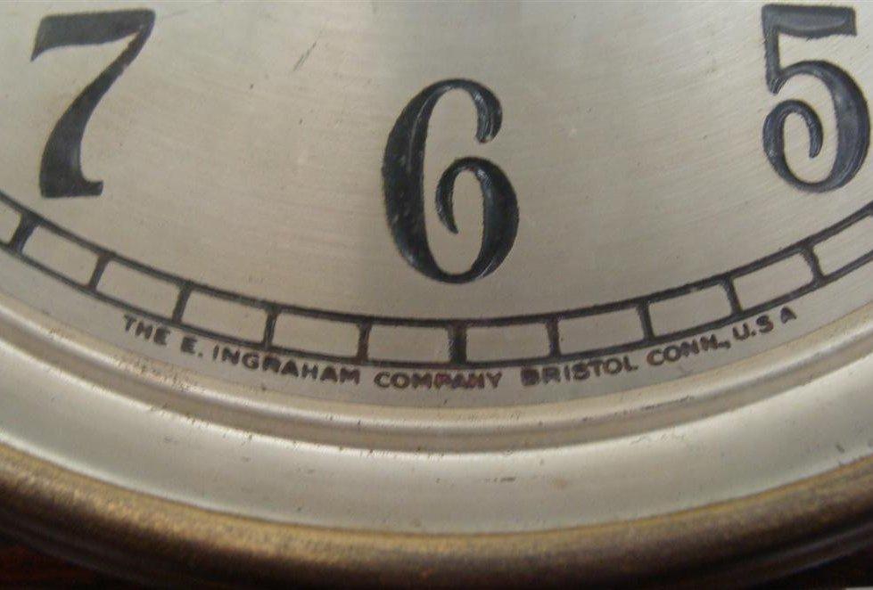 Outstanding Ingraham Banjo Clock; Working Condition. - 6