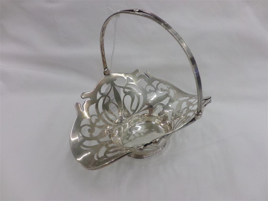 Sterling Silver Pierced Basket; Sold by J.E. Caldwell &