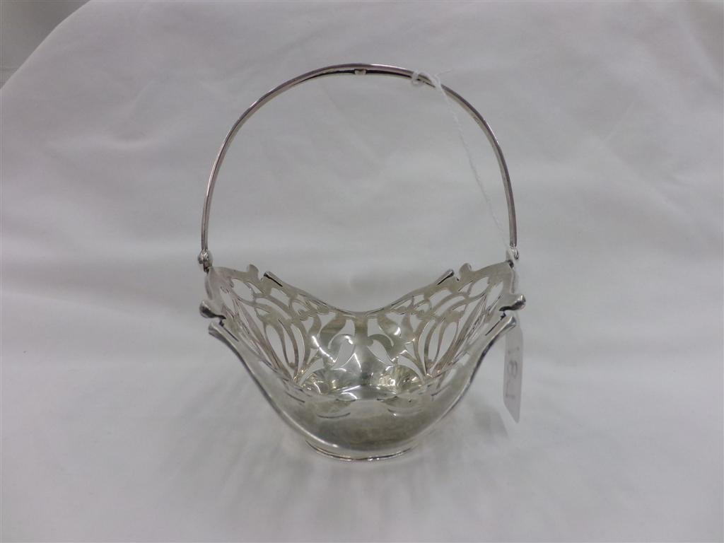 Sterling Silver Pierced Basket; Sold by J.E. Caldwell & - 4