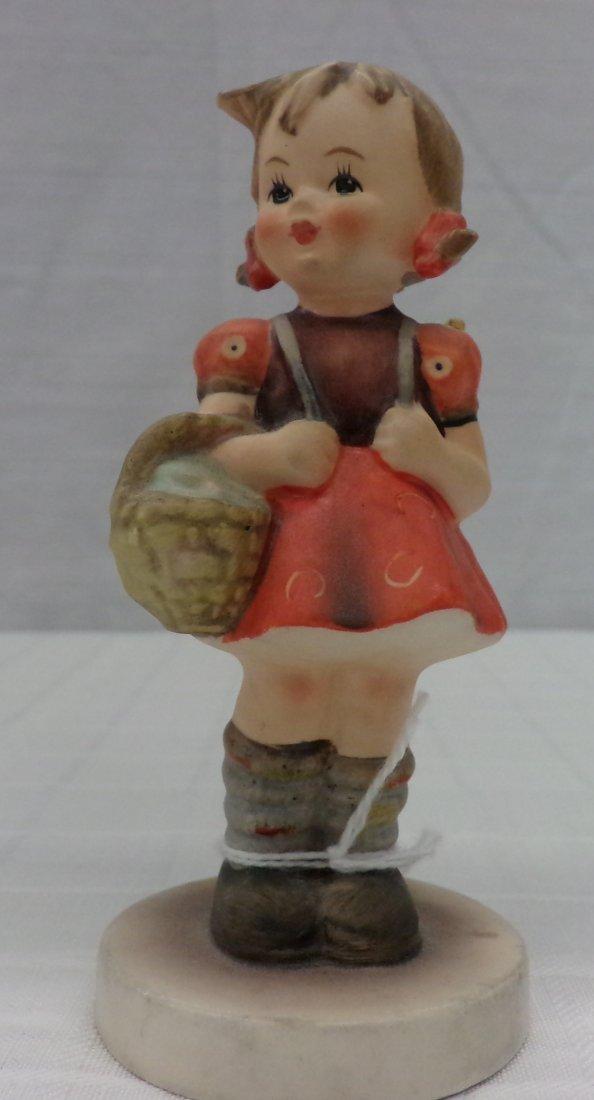 Hummel Figurine: Schoolgirl; #81/2/0; TM 3. Book Value