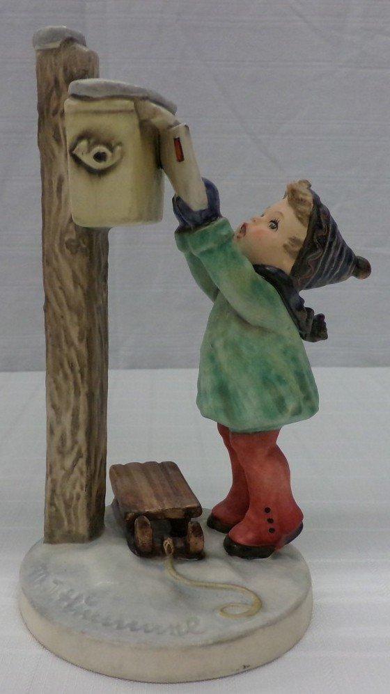 Hummel Figurine: Letter to Santa Claus; #340; TM 5.
