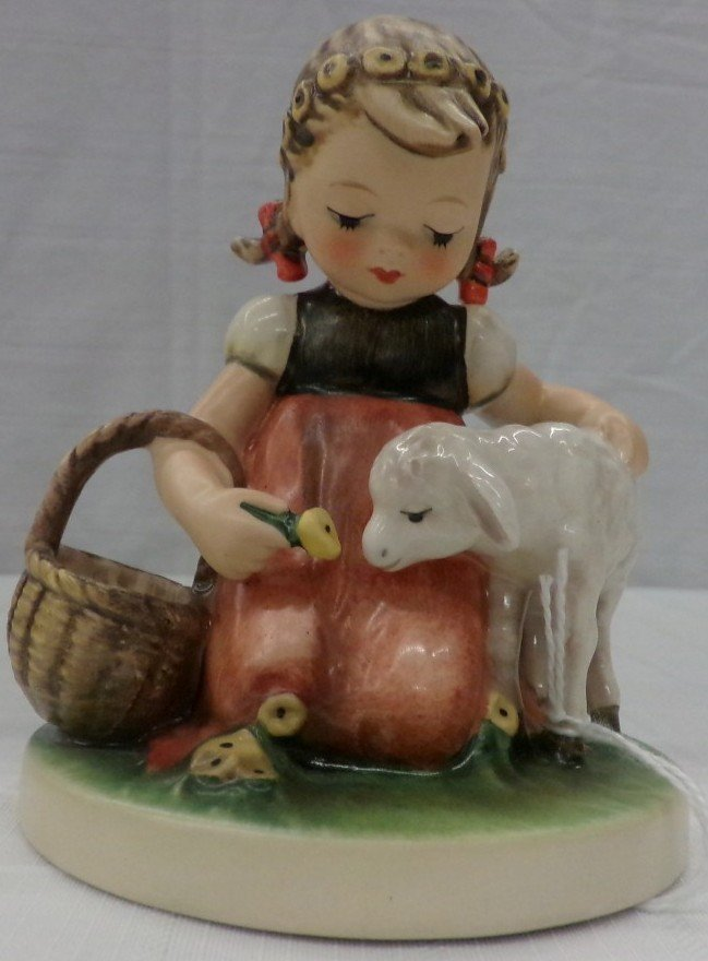 Hummel Figurine: Favorite Pet; #361; TM 4. Book Value
