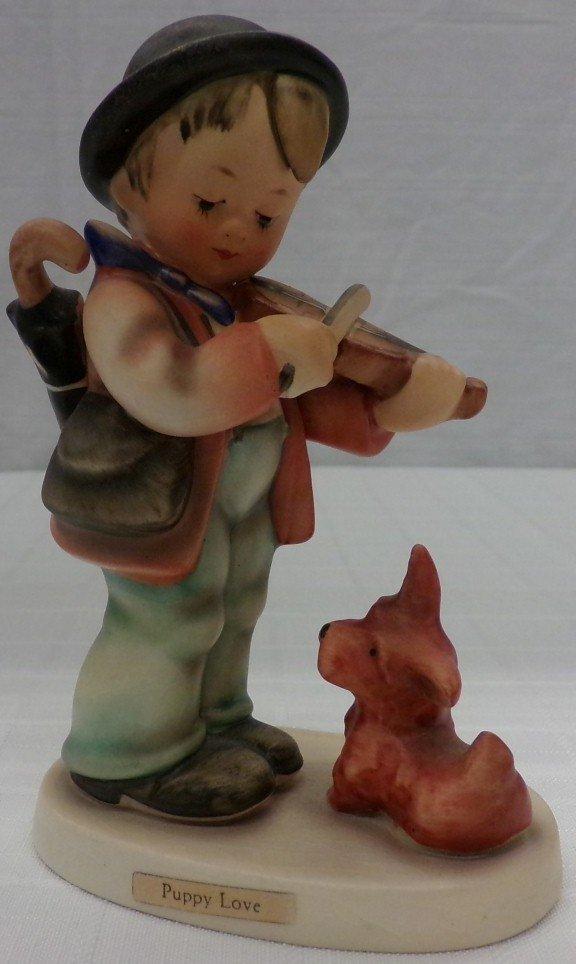 Hummel Figurine: Puppy Love; #1; TM 3. Book Value $245.
