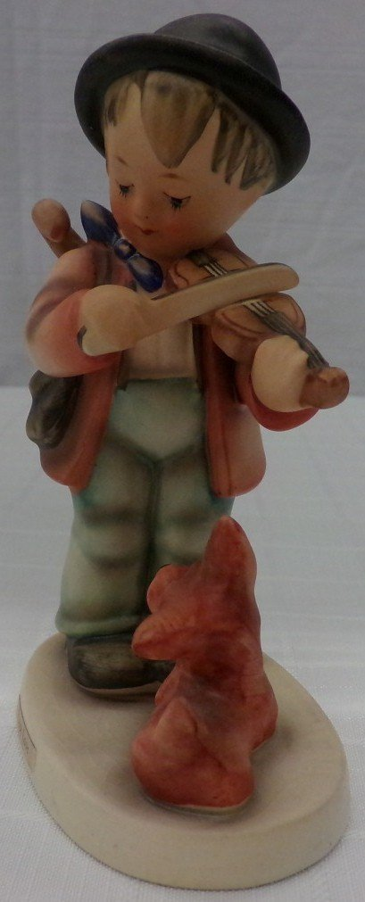 Hummel Figurine: Puppy Love; #1; TM 3. Book Value $245. - 2