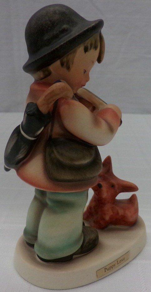 Hummel Figurine: Puppy Love; #1; TM 3. Book Value $245. - 5