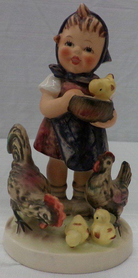 Hummel Figurine: Feeding Time; #199/1; TM 5. Book Value