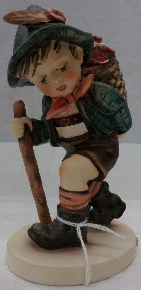 Hummel Figurine: Flower Vendor #381; TM 5. Book Value