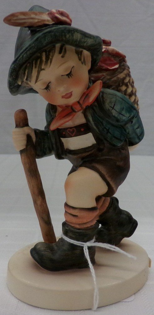 Hummel Figurine: Flower Vendor #381; TM 5. Book Value