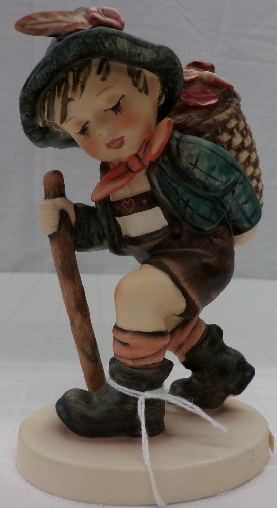 Hummel Figurine: Flower Vendor #381; TM 5. Book Value - 6