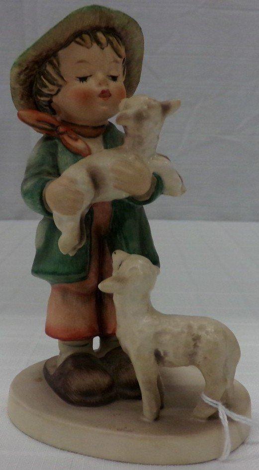 Hummel Figurine: Shepherds Boy #64; TM 3. Book Value
