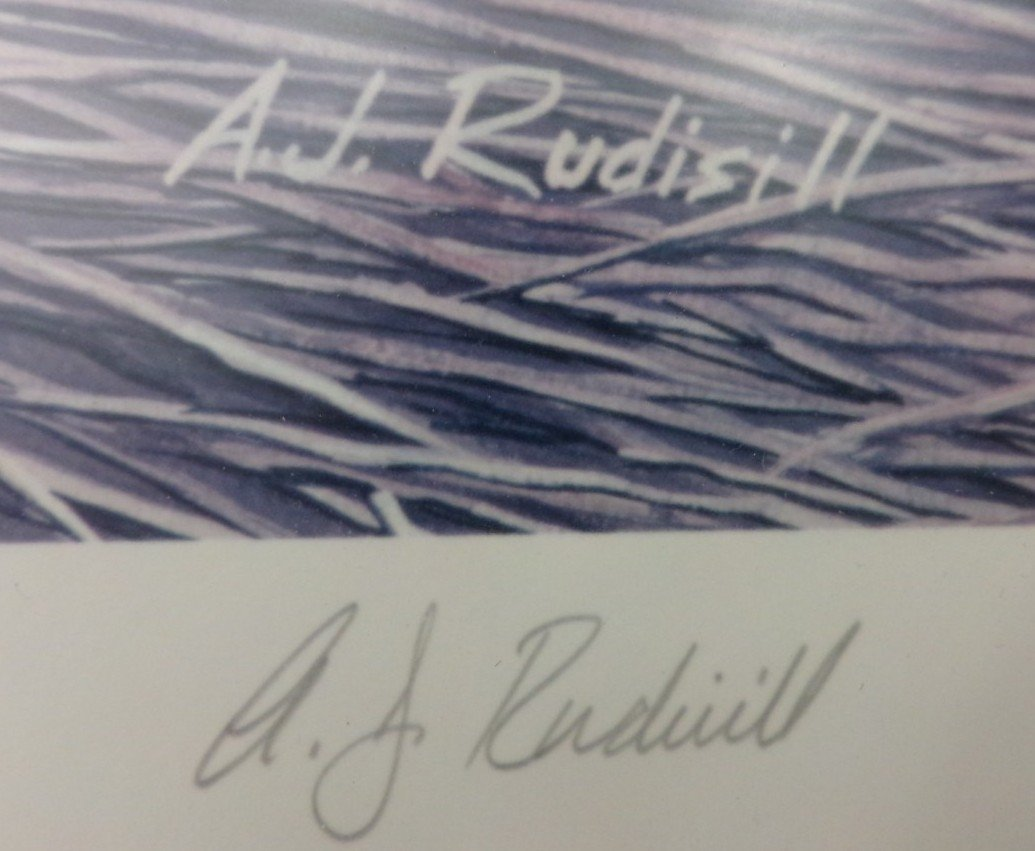Signed & Numbered Print by AJ Rudisill; #28/150. - 5