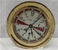 US Coast Guard Chelsea Ships Clock in Working Condition;