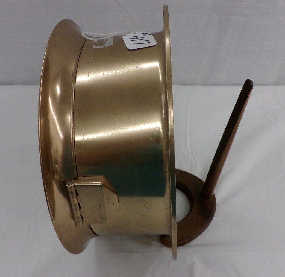Large Crosby Steam Gauge & Valve Co, Boston, USA< Brass - 4