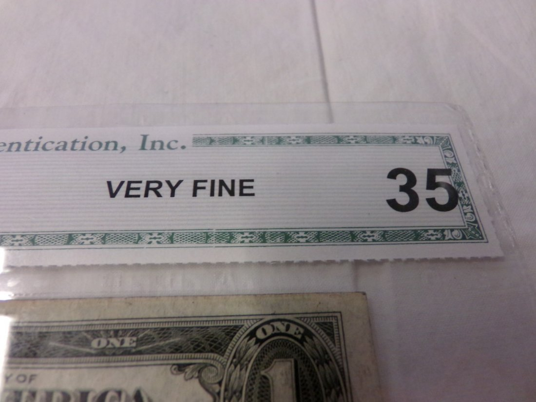 CGA Graded Fr1613-N. 1935 $1 Silver Certificate. - 3