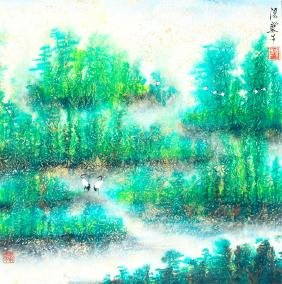 FENG JI CAI CHINESE PAINTING (ATTRIBUTED TO )