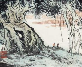 A LIN KAI PAINTING, ATTRIBUTED TO