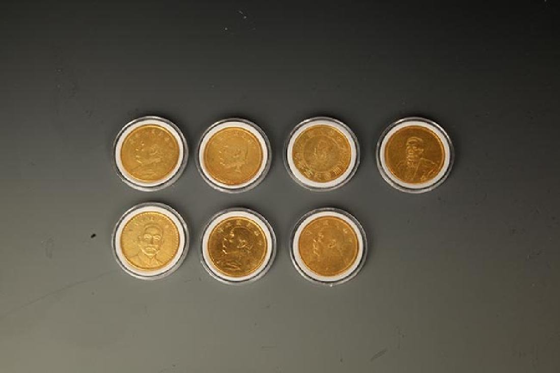 GROUP OF 7 OLD CHINESE COIN