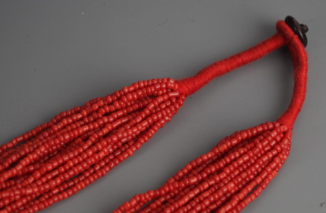 A CORAL NECKLACE - 4