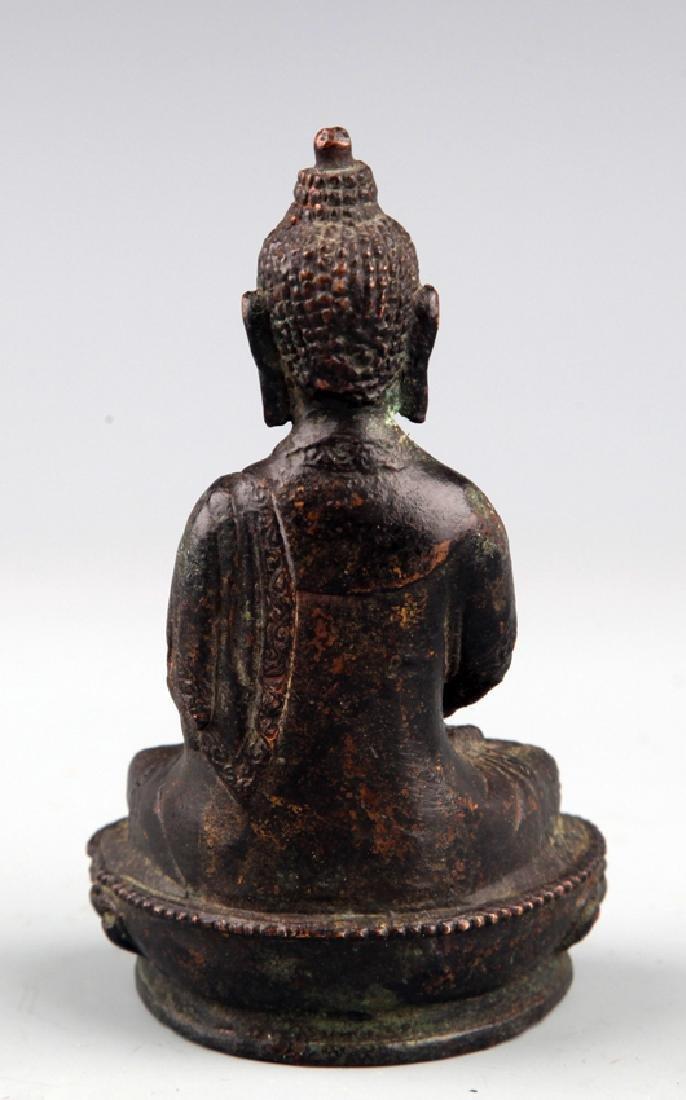 A FINELY CARVED BUDDHA FIGURE - 2