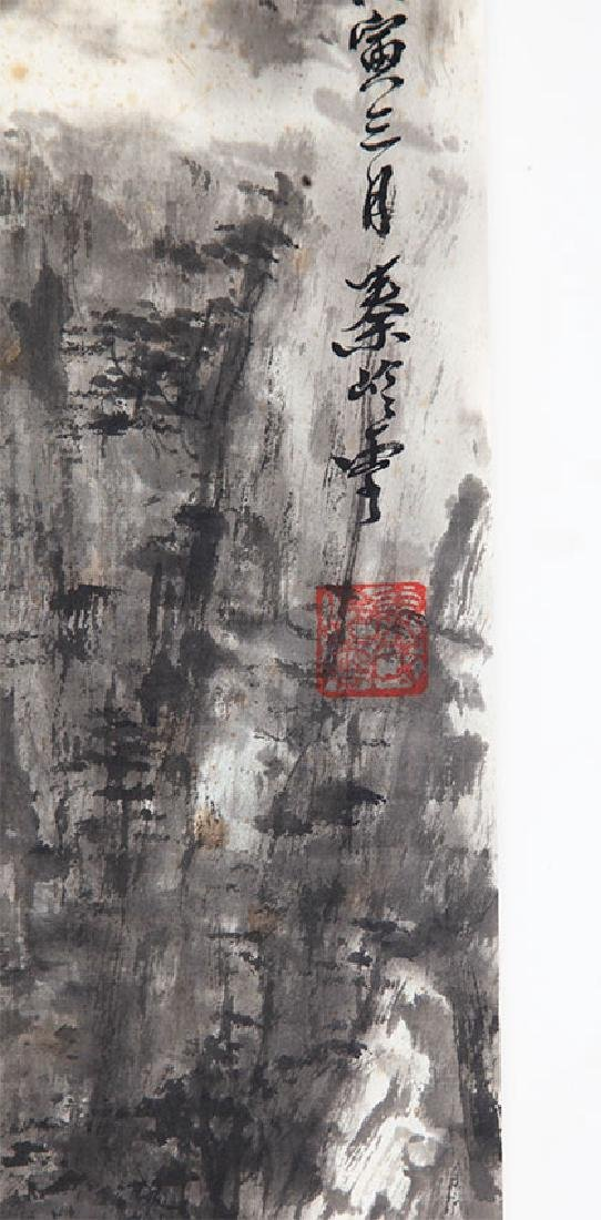 A QIN LING YUN CHINESE PAINTING, ATTRIBUTED TO - 3