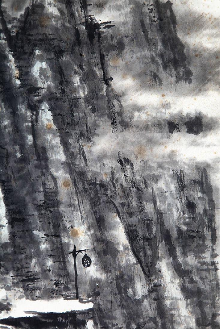 A QIN LING YUN CHINESE PAINTING, ATTRIBUTED TO - 4
