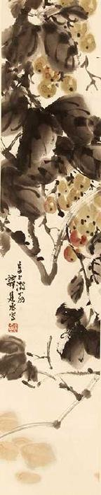 TAN JIAN CHENG CHINESE PAINTING ATTRIBUTED TO