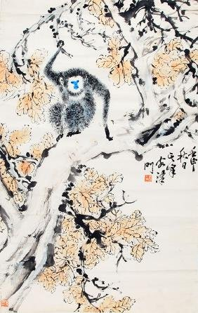 SUN QI FENG CHINESE PAINTING, ATTRIBUTED TO