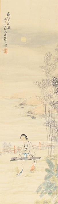 A PAN ZHEN YONG CHINESE PAINTING, ATTRIBUTED TO