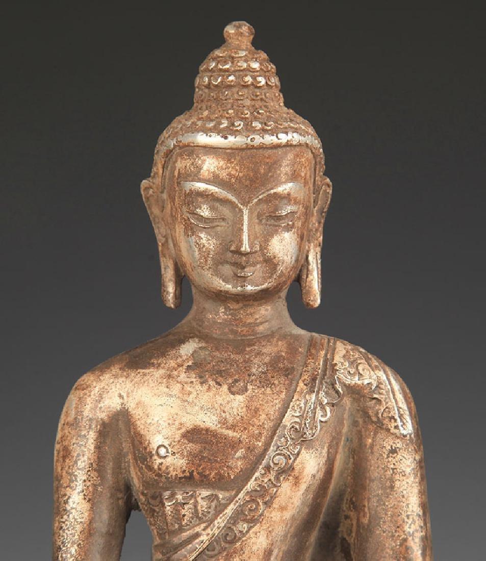 A Silver Cover Medicine Buddha - 2