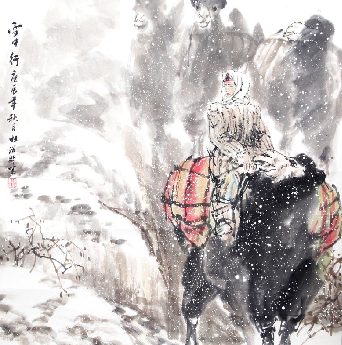 DU ZI LING CHINESE PAINTING (ATTRIBUTED TO 1941 - )