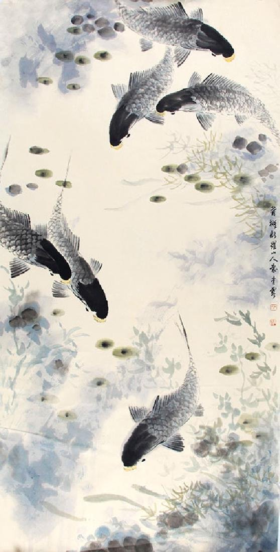 WU QING XIA,CHINESE PAINTING ATTRIBUTED TO